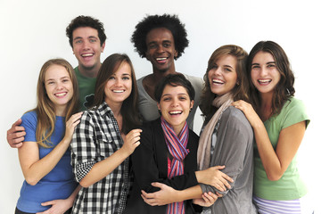 Diversity: group of college or university students