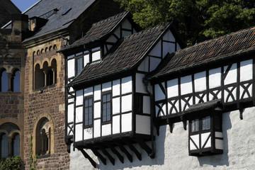 Die Wartburg oberhalb von Eisenach