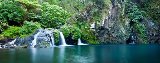 Cascade Trou Noir de la rivière Langevin - Ile de La Réunion