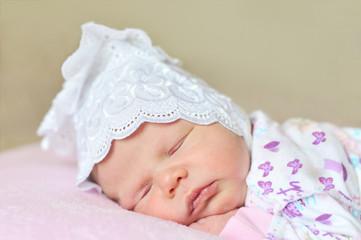 sweet newborn's dreams