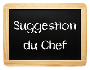 Suggestion du Chef