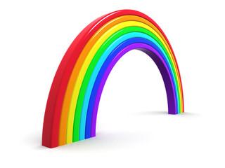 3d Plastic rainbow