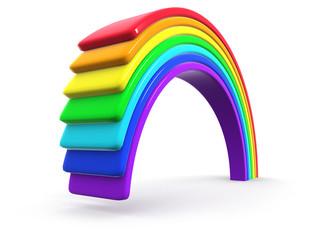 3d Rainbow creation