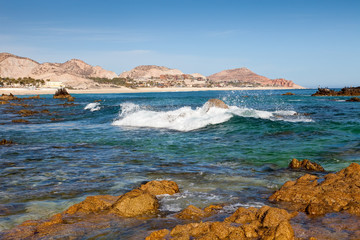 Coastline of Cabo San Lucas, Mexico