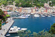 World famous Portofino village near Genova, Italy