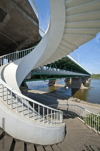 Modern steps and bridge © Cinematographer