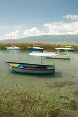 Boats in Struga