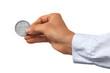 Geldserie: Hand hält D Mark