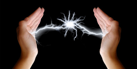 Lightning in her Hands