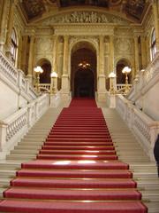 Wien - Burgtheater (Kronprinzen-Aufgang)