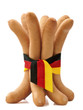 frankfurters isolated + Clipping Path