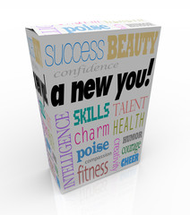 A New You - Product Box Selling Instant Self-Help Improvement