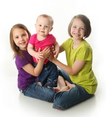 Three cute sisters