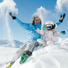 Snow, ski, sun and fun
