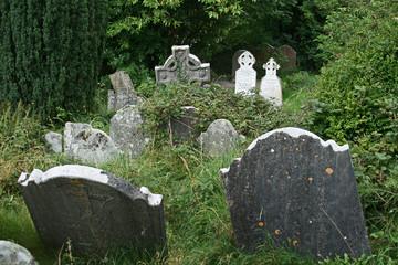 Irland Glendalough Kreuz