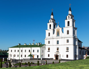 Belarus Minsk The main Orthodox church of the Republic of Belaru