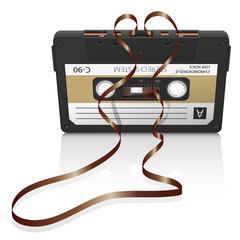 Audiokassette, Musikkassette, Kassette, Tonband