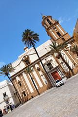 Iglesia de Santiago in Cádiz, Spanien