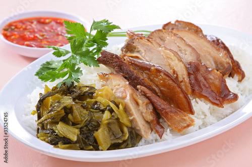 Pork Leg Stew over Rice (Kao Ka Moo)