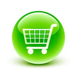 icône panier /  shopping cart icon