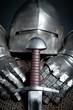 Schwert und Ritterrüstung