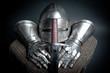 Schwert und Rüstungsteile