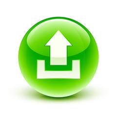 icône envoi /  upload icon