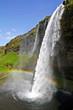 Leinwandbild Motiv Wasserfall