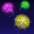 Vector illustration - Firework.