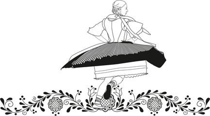 dancer folklore