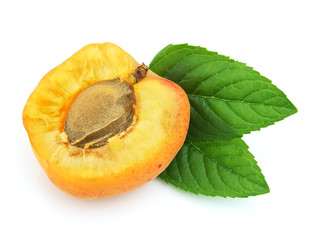 Sweet apricot with mint