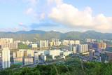 Hong Kong downtown at daytime poster