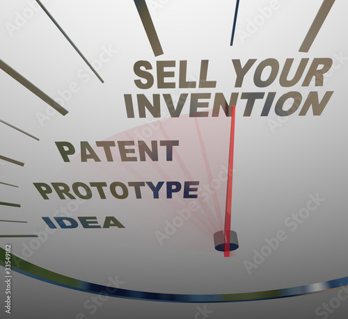Sell Your Invention Words on Speedometer Steps for Inventing