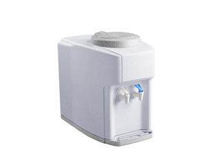 hot and cold faucet of water dispenser