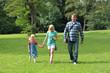 Geocaching  mit Familie