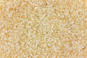 Close view raw sugar
