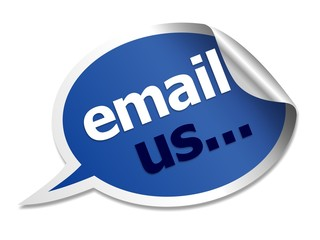 email us speech bubble
