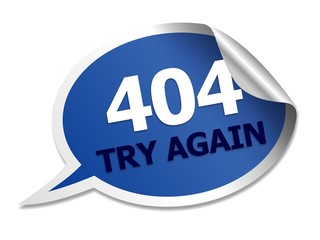 404 speech bubble