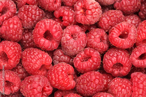 A raspberry background