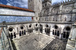 Sé Cathedral Courtyard, Porto, Portugal.