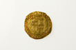 Gold unite of Britain's King Charles I, reverse