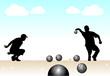 joueurs de pétanque - 33559154