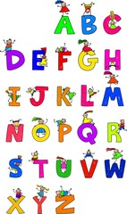 Alphabet Children