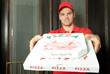pizzaman bringt pizza