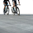 Ciclisti e strada