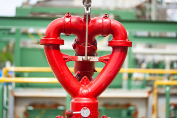 fire hydrant heart design in factory