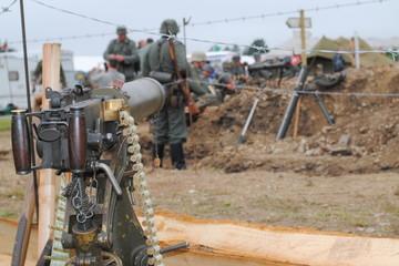 Vickers Water Cooled 303 Machine Gun
