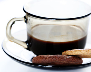 Cup with coffee