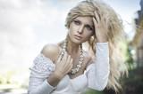 Fototapete Belle - Schönheit - Frau