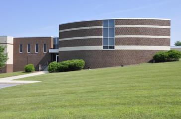 modern school exterior